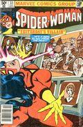 Spider-Woman (1978-1983 1st Series) Mark Jewelers 33MJ