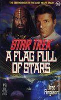 Star Trek A Flag Full of Stars PB (1991 Pocket Novel) 54-1ST