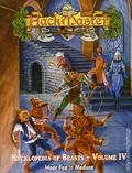 HackMaster: The Hacklopedia of Beasts SC (2001-2002 Kenzer) Role-Playing Game 4-1ST