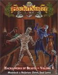 HackMaster: The Hacklopedia of Beasts SC (2001-2002 Kenzer) Role-Playing Game 5-1ST