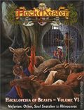 HackMaster: The Hacklopedia of Beasts SC (2001-2002 Kenzer) Role-Playing Game 6-1ST