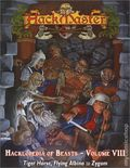 HackMaster: The Hacklopedia of Beasts SC (2001-2002 Kenzer) Role-Playing Game 8-1ST