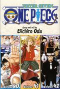 One Piece TPB (2009- Viz) 3-in-1 Volume 40-42-1ST