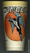 7-Eleven Marvel Super Heroes Collectible Cups (1975 Marvel) ANGEL