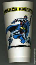 7-Eleven Marvel Super Heroes Collectible Cups (1975 Marvel) BLACKKNIGHT