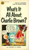 What's It All About Charlie Brown? PB (1969 Fawcett Crest) 1-REP