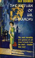 Return of Dr. Fu Manchu PB (1961 Pyramid Novel) 1-1ST