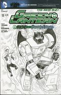 Green Lantern (2011 4th Series) 13CSKETCH