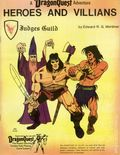 Heroes and Villains SC (1982 Judges Guild) A DragonQuest Adventure Role-Playing Game 1-1ST