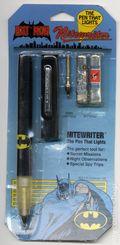 Batman Nitewriter (1982 ElectroOptix Inc.) The Pen that Lights ITEM#1