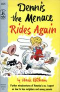 Dennis the Menace Rides Again PB (1955 Pocket Books) 1-REP