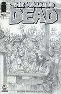 Walking Dead (2003 Image) 1FTLAUD.B&W