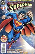 Superman The Man of Tomorrow (1995) 1DF.SIGNED