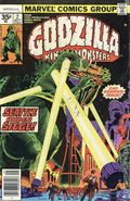 Godzilla (1977 Marvel) 35 Cent Variant 2
