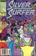 Silver Surfer (1987 2nd Series) Mark Jewelers 4MJ