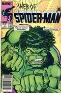Web of Spider-Man (1985 1st Series) Mark Jewelers 7MJ