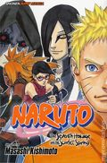 Naruto The Seventh Hokage and the Scarlet Spring TPB (2016 Viz) 1-1ST
