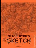 Mitch Byrd's Sketchbook SC (2004 Afterburn Comics) 3S-1ST