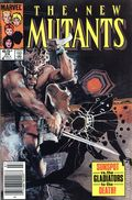 New Mutants (1983 1st Series) Mark Jewelers 29MJ