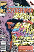 Web of Spider-Man (1985 1st Series) Mark Jewelers 6MJ