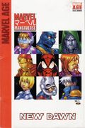 Marvel Age Marvel Mangaverse: New Dawn SC (2004 Marvel) A Target Saddle-Stitched Collection 1-1ST