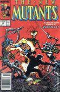 New Mutants (1983 1st Series) Mark Jewelers 80MJ