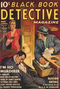 Black Book Detective Magazine (1933-1953 Newsstand/Hoffman/Ranger/Better) Pulp Vol. 9 #1