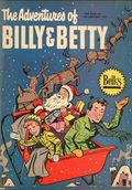 Adventures of Billy and Betty (1955 Harvey) Dept. Store Giveaway Dec 1955
