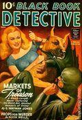 Black Book Detective Magazine (1933-1953 Newsstand/Hoffman/Ranger/Better) Pulp Vol. 18 #1
