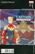 Captain Marvel (2016) 1B