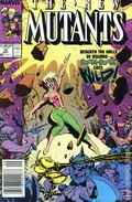 New Mutants (1983 1st Series) Mark Jewelers 79MJ