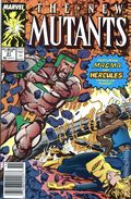 New Mutants (1983 1st Series) Mark Jewelers 81MJ