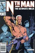 Nth Man the Ultimate Ninja (1989) Mark Jewelers 2MJ