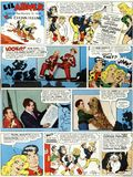"""Li'L Abner Goes to the Movies to See """"That Certain Feeling"""" (1956 United Features Syndicate) Poster 1956"""