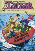 Tarzan (Swedish 1977-1990 Atlantic Forlags AB) 1980, #6