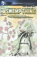 Swamp Thing (2011 5th Series) 14B.SKTCH
