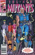 New Mutants (1983 1st Series) Mark Jewelers 90MJ