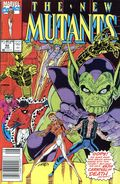 New Mutants (1983 1st Series) Mark Jewelers 92MJ