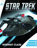 Star Trek The Official Starship Collection (2013 Eaglemoss) Magazine and Figure #061