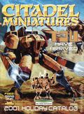Citadel Miniatures Holiday Catalog (2001 Games Workshop) 2001