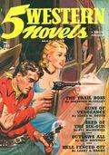 5 Western Novels Magazine (1949-1954 Standard Magazines) Pulp Vol. 3 #1