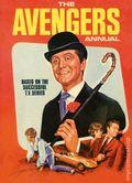 Avengers Annual HC (1967-1969 Atlas UK) Based On the TV Series 1969-1ST