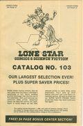 Lone Star Comics and Science Fiction Catalog (Lone Star Comics) 103