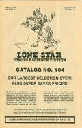 Lone Star Comics and Science Fiction Catalog (Lone Star Comics) 104