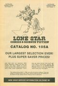 Lone Star Comics and Science Fiction Catalog (Lone Star Comics) 105A