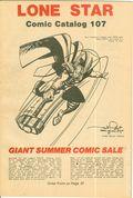 Lone Star Comics and Science Fiction Catalog (Lone Star Comics) 107