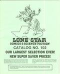 Lone Star Comics and Science Fiction Catalog (Lone Star Comics) 102