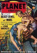 Planet Stories (1939-1955 Fiction House) Pulp Vol. 4 #1