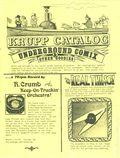 Krupp Catalog (1972 Krupp Comic Works) 1