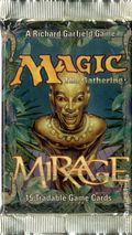 Magic The Gathering Mirage Booster Pack (1996 Wizards of the Coast) PACK#1